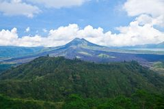 Bali volcano Royalty Free Stock Image
