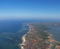 Bali von der Luft 3 Stockfotografie