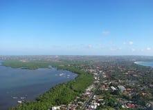 Bali von der Luft 4 Stockfotografie