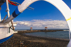 Bali widok na ocean fotografia royalty free