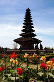 Bali - Wodna świątynia - Pura Ulun Danu Bratan Zdjęcia Stock