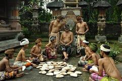 Bali - wood carving Royalty Free Stock Photography
