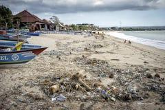 Bali - zanieczyszczenie Obrazy Royalty Free