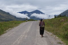 Baliem Valley in Papua Province Stock Photos