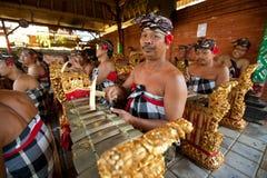 balijczyków muzycy Fotografia Royalty Free