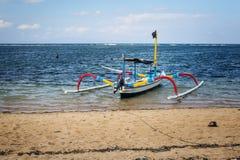Balijczyk Jukung Fotografia Royalty Free