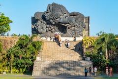 Balijczyk parada przez ziemi przy GWK zdjęcia stock