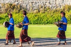 Balijczyk parada przez ziemi przy GWK zdjęcie stock