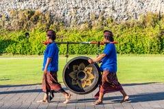 Balijczyk parada przez ziemi przy GWK zdjęcie royalty free