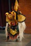 Balijczyka Barong tradycyjny taniec z Barong Indonezja Fotografia Royalty Free