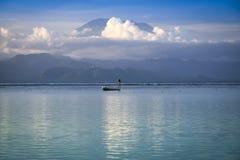 Balijczyka botman gunung agung wulkan Bali Zdjęcia Royalty Free