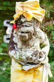 Balijczyka demonu strażnika statua Obraz Stock
