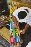 Balijczyka rzemieślnik Zdjęcie Royalty Free