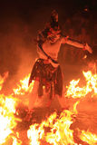 balijczyka tana ogień tradycyjny Fotografia Royalty Free