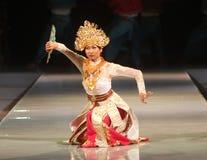 BALIJCZYKA TRADYCYJNY taniec zdjęcia royalty free