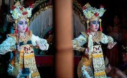 Balijczyka tradycyjny taniec Legong Obraz Stock