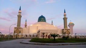 Balikpapan islamisk mitt arkivbilder