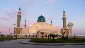 Balikpapan Islamitisch Centrum stock afbeeldingen
