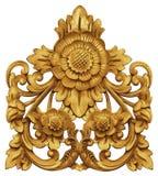 Balinees Bloemornament royalty-vrije stock afbeelding