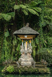 Balinees heiligdom in de Tempel van Gunung Kawi Sebatu Stock Fotografie