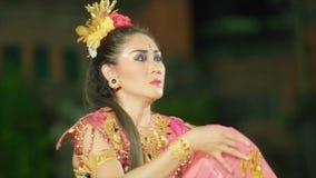 Balinees het presteren artistiek schouwspel stock videobeelden