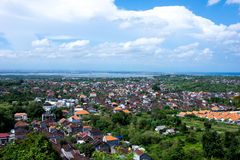 Balinees landschap Stock Afbeeldingen