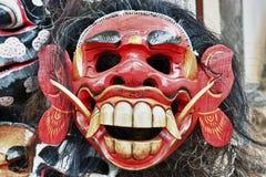 Balinees masker in een winkel stock afbeeldingen