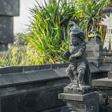 Balinees standbeeld in Tanah-Partij Royalty-vrije Stock Fotografie