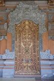 Balinese golden door Stock Images
