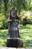 Balinese statue Royalty Free Stock Photo