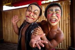 balinese актеров Стоковые Изображения RF