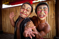 Balinese actors Royalty Free Stock Images