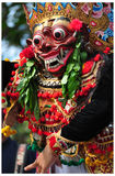 Balinese actors during a dance show Stock Images