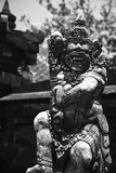 Balinese ancient statue Royalty Free Stock Photo