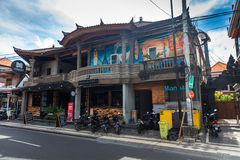 Balinese architecture buildings and resort and house Stock Image