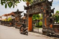 Balinese architectuur Stock Afbeeldingen