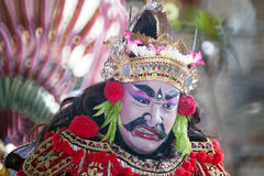 Balinese Barong dancer Stock Photo