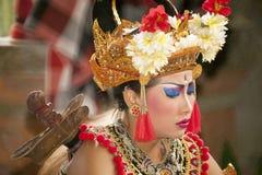 Balinese Barong dancer Stock Photography