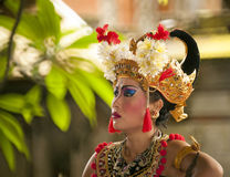 Balinese Barong dancer Stock Images