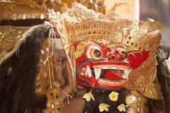 Balinese Barong dancer Royalty Free Stock Photo