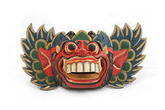 Balinese Barong mask. Wooden Barong mask from Tegallalang in Bali, Indonesia Stock Photography
