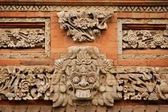 Balinese bashulp Royalty-vrije Stock Afbeeldingen