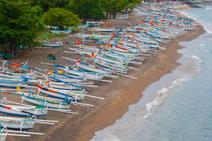 Balinese boats Stock Photo