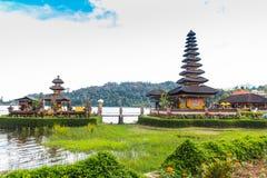Balinese bonito Ulun Danau Fotos de Stock Royalty Free