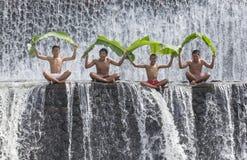 Balinese boys having fun Stock Photography