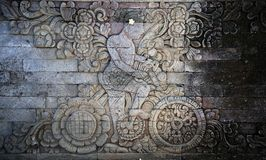 Balinese carving 1 Royalty Free Stock Photography