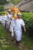 Balinese ceremonie Royalty-vrije Stock Fotografie