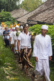 Balinese ceremonie royalty-vrije stock afbeeldingen