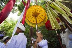 Balinese ceremonie Royalty-vrije Stock Foto's