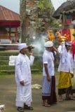 Balinese ceremonie royalty-vrije stock afbeelding